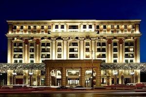 Ritz Carlton Hotel Moscow