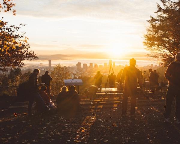 Portland hill