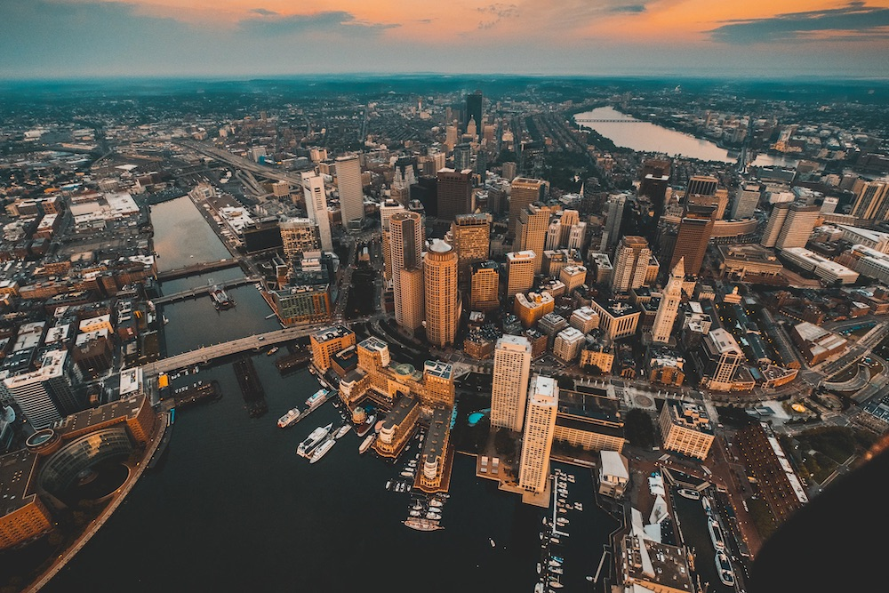 Boston areas