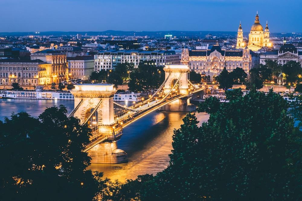 Budapest areas