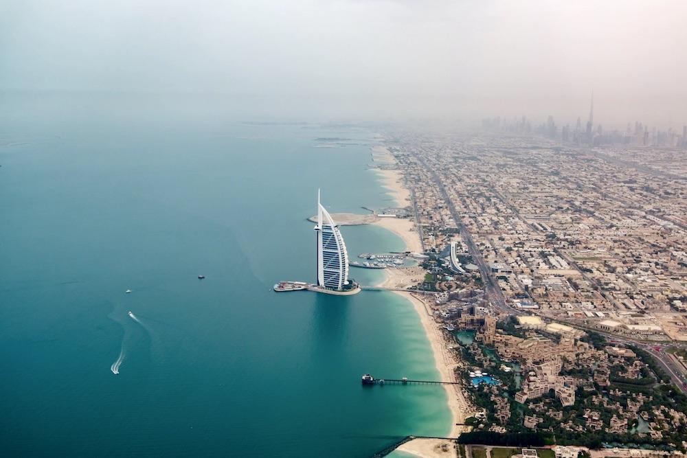 Dubai areas