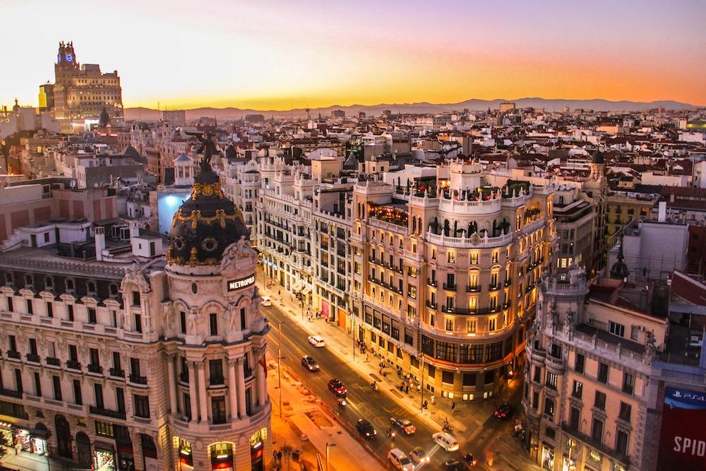 Madrid areas
