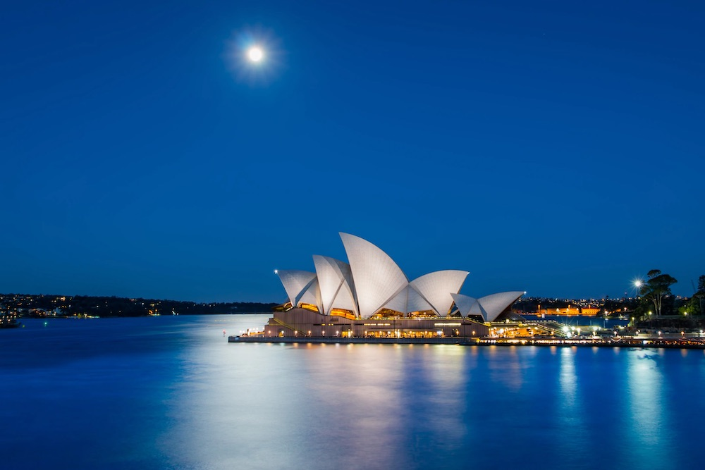 Sydney areas