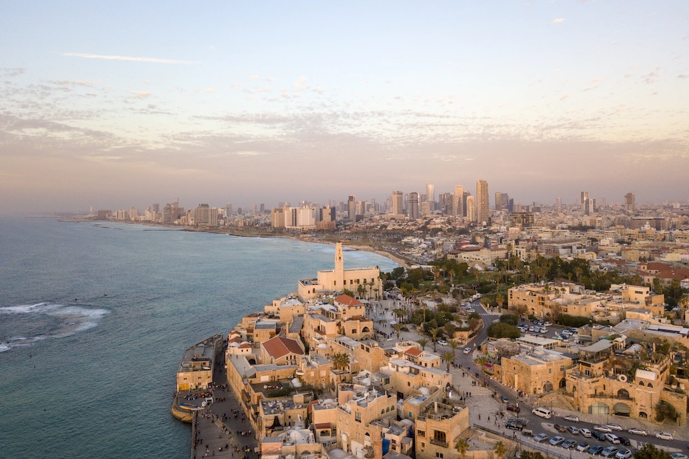 Tel Aviv areas