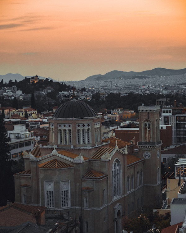 Athens downtown